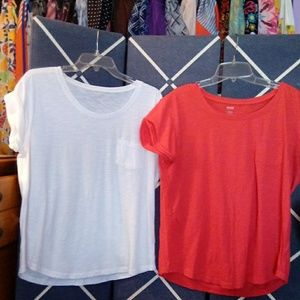 2 for 1 a.n.a pocket t-shirts